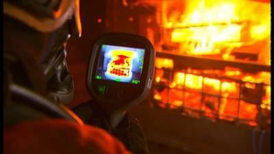 thermal imaging camera for firefighters