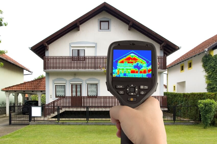 Thermal Imaging Cameras for  Home Inspections