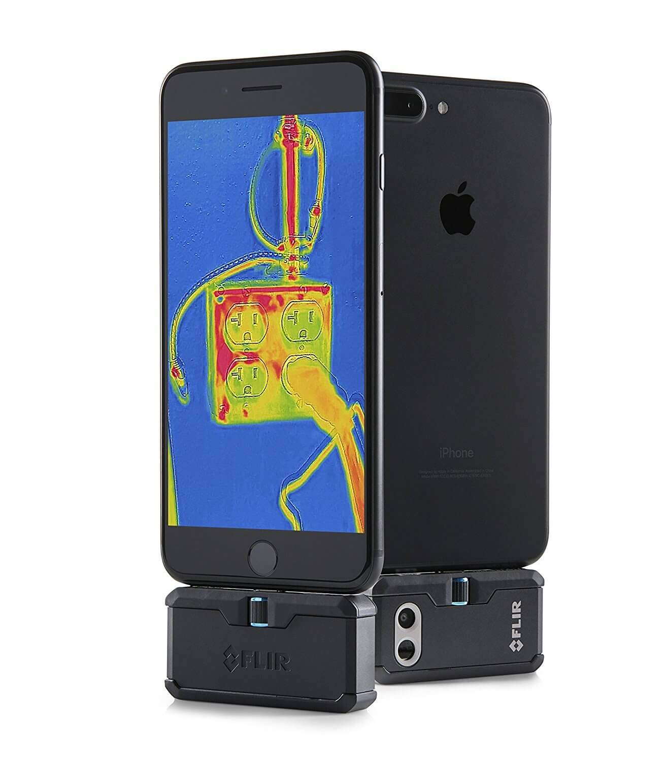 flir thermal camera iphone flir one pro thermal imaging attachment for smartphone 14122