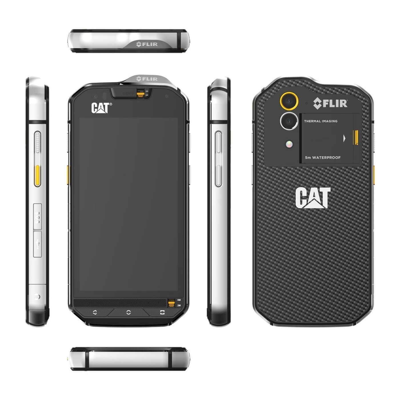 Catapillar Flir Thermal Imager phone