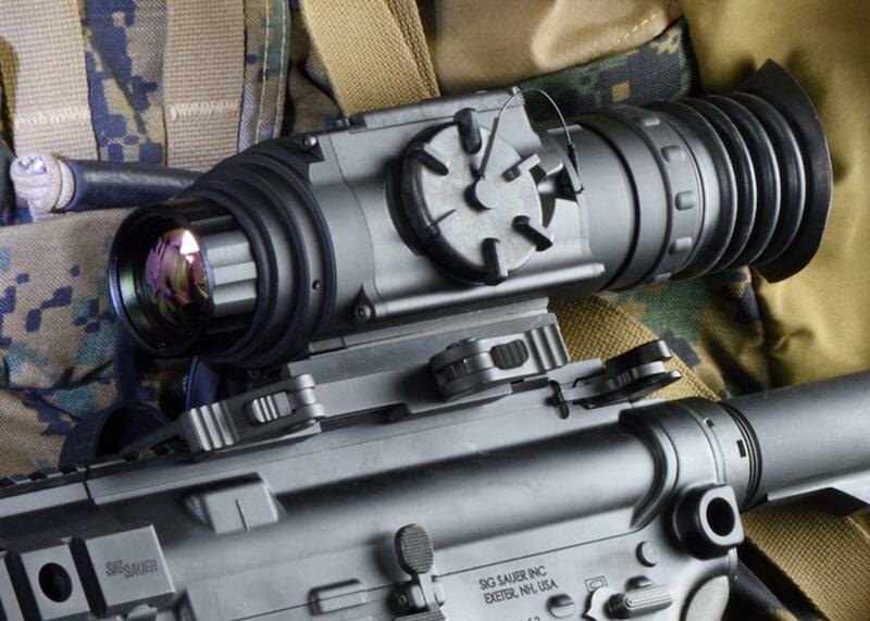 thermal riffle scope