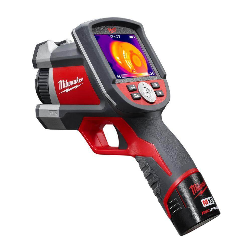 Milwaukee thermal imager review