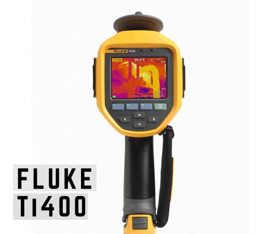 FLUKE ti400 thermal imaging camera