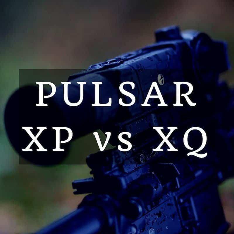 PULSAR XP VS XQ best thermal scope