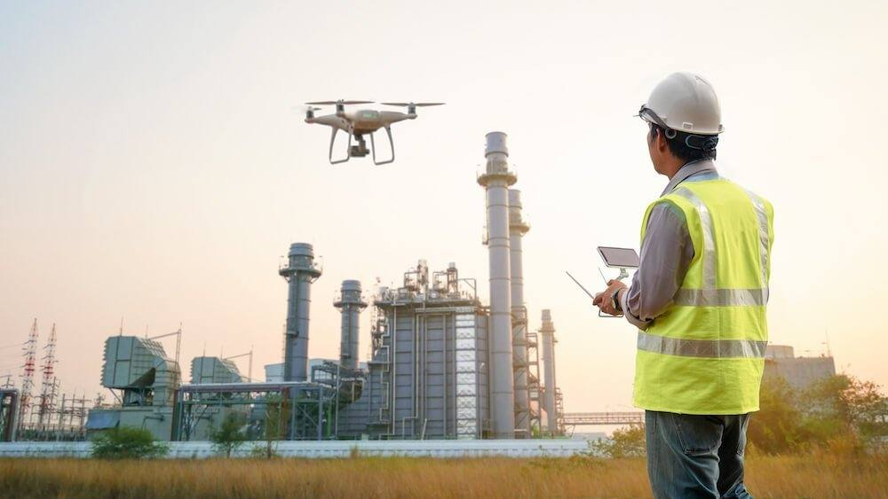 Drone thermal cameras for commercial and building inspections