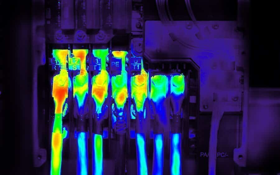 thermal camera for electrical inspections