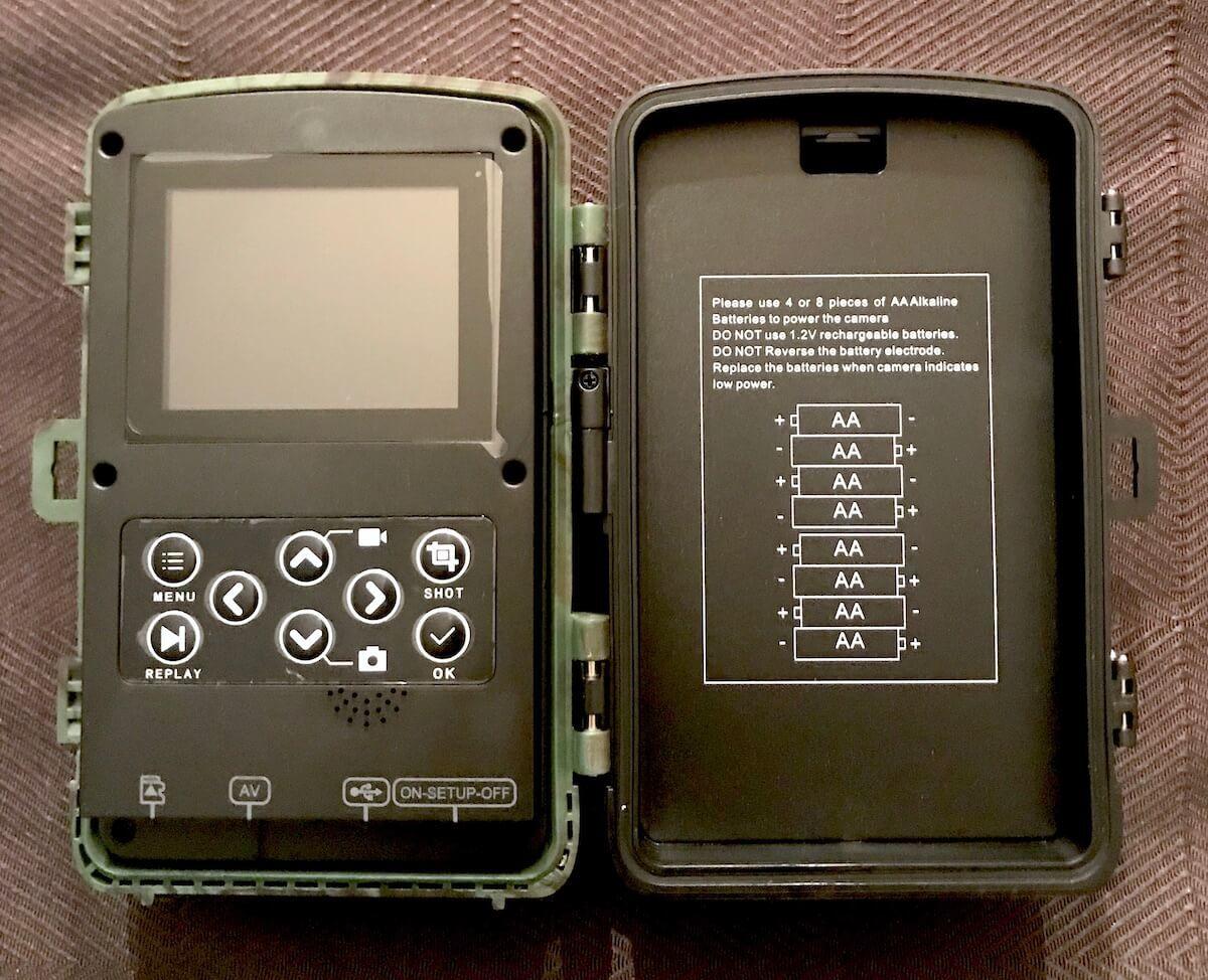 Toguard H40 Digital Wildlife Camera Inside 3