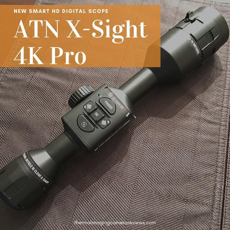 ATN X-Sight 4K Pro digital rifle scope