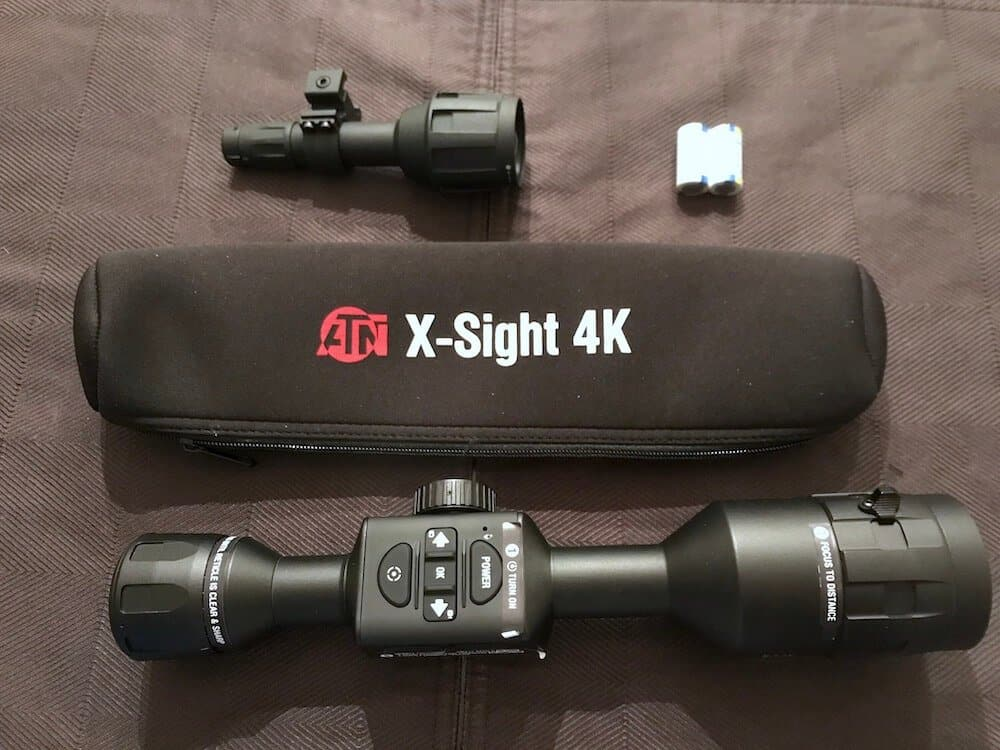 ATN X-Sight 4K and IR Illuminator 2