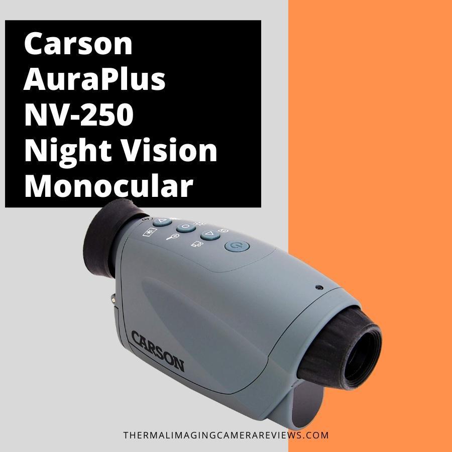 Carson AuraPlus NV-250 night vision monocular