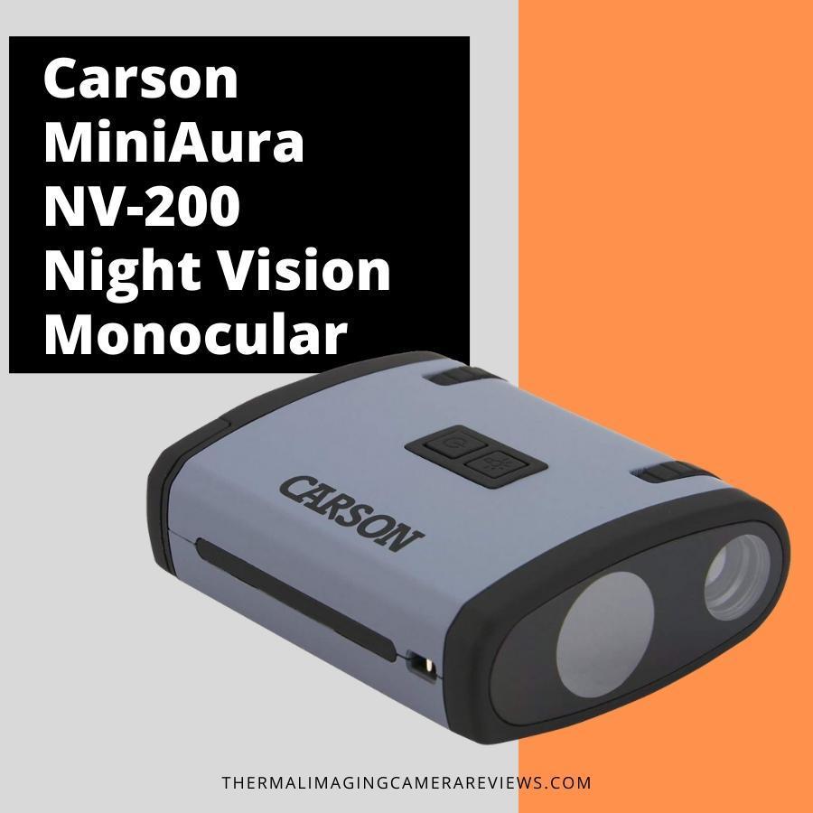 Carson MiniAura NV-200 Night Vision Monocular