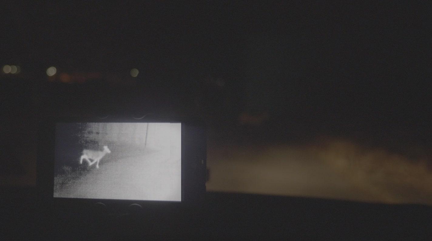 Night Ride Thermal Dash Cam