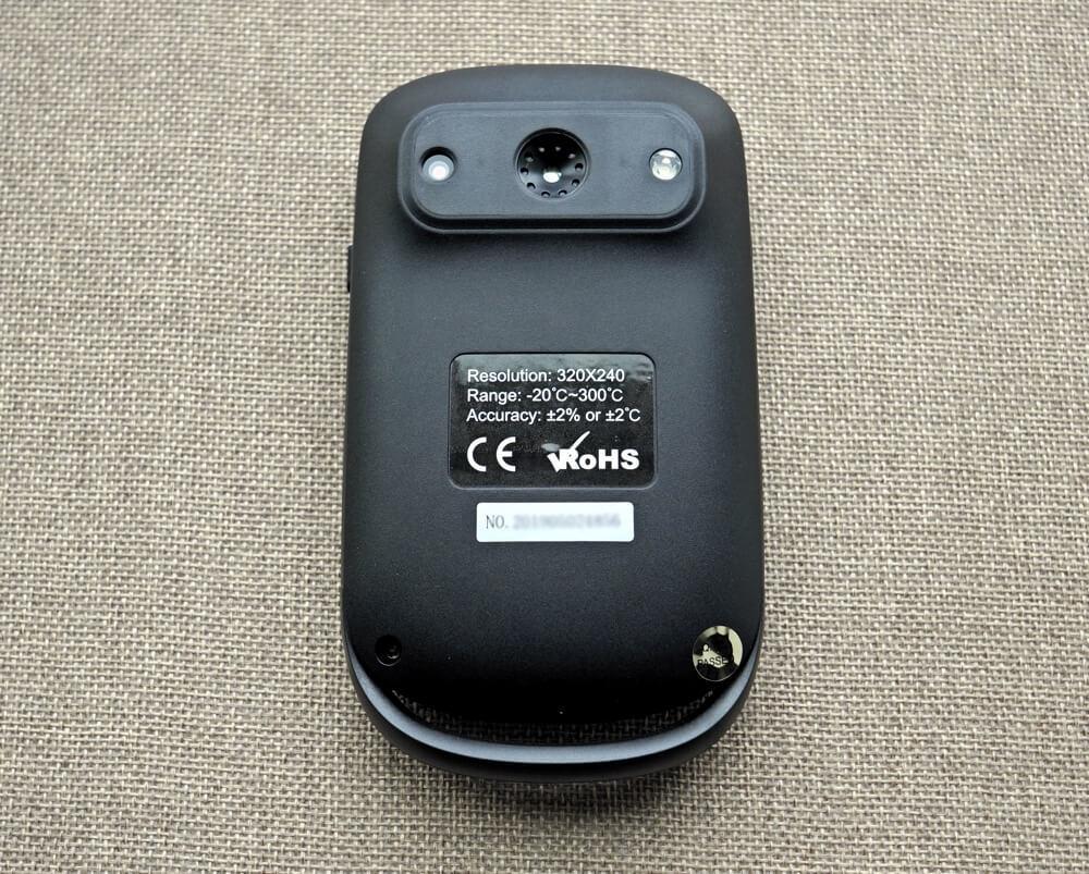 PerfectPrime IR0006 rear and thermal sensor