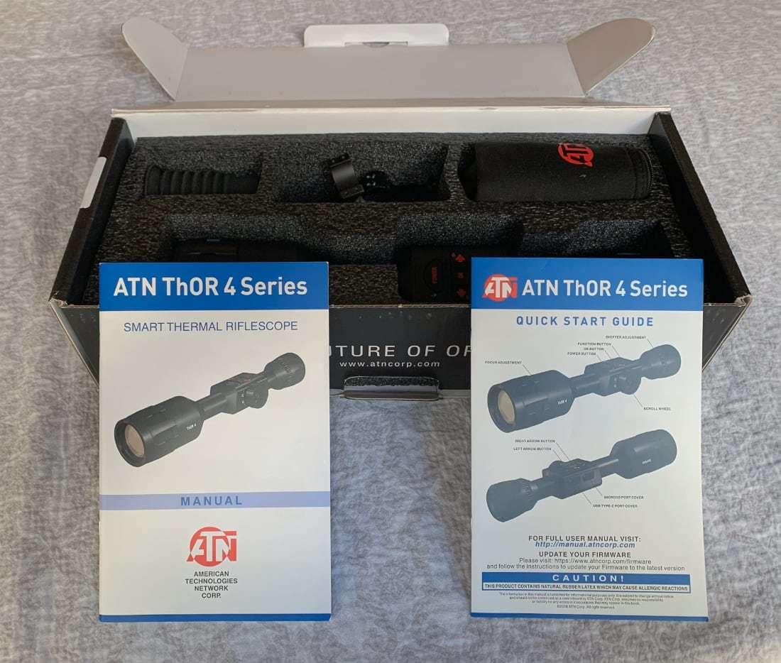 ATN ThOR 4 384x288 manual