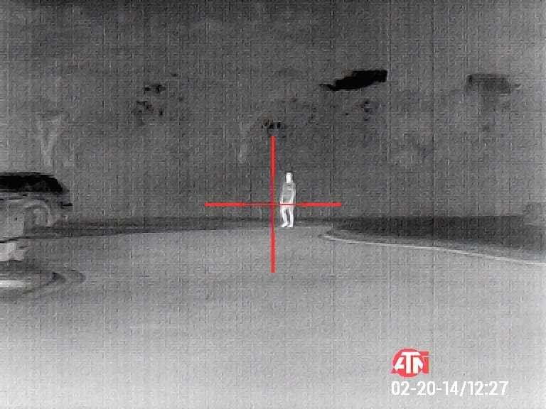 ATN Thor 4 384 thermal scope sample