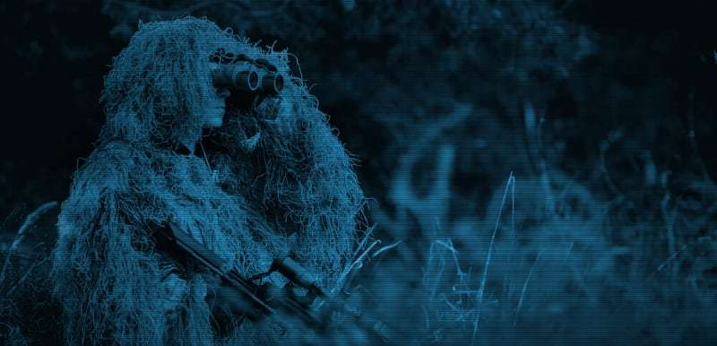 hunting with thermal scope