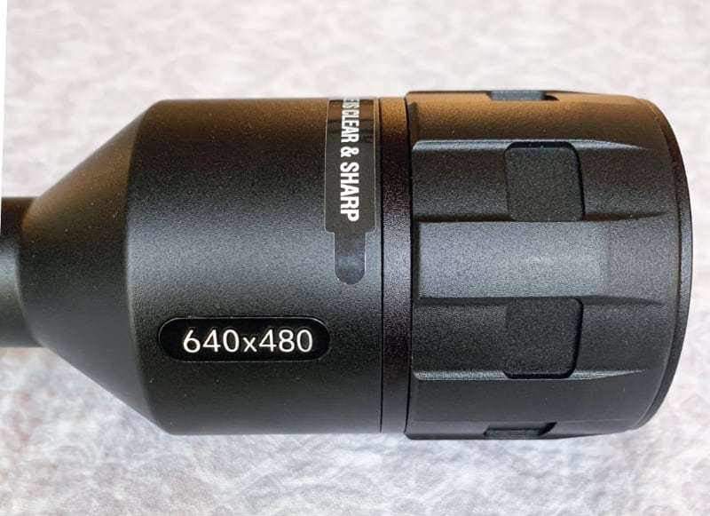 thermal scope with high thermal resolution