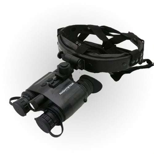 NightStar 1x20mm Head Mounted Night Vision Binoculars NS42120C