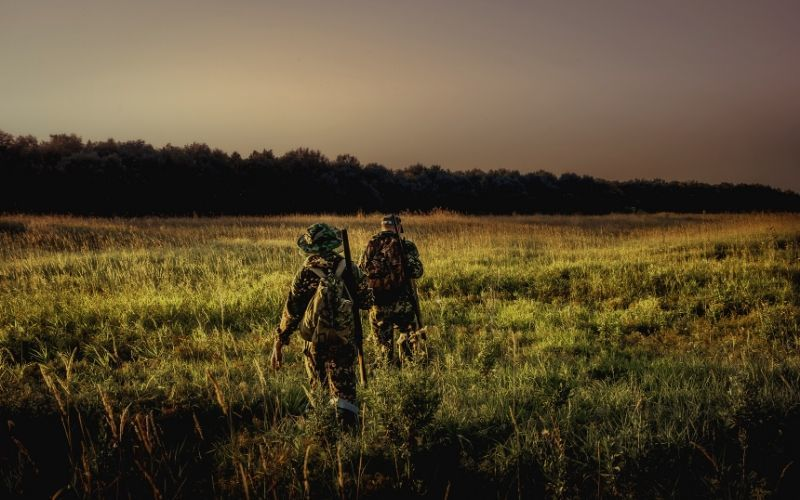 night hunting with a night vision scope