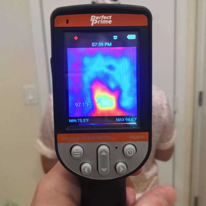 PerfectPrime IR0280H thermal only mode