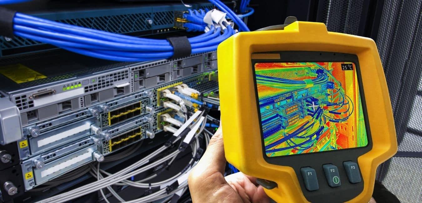 thermal imaging camera scan