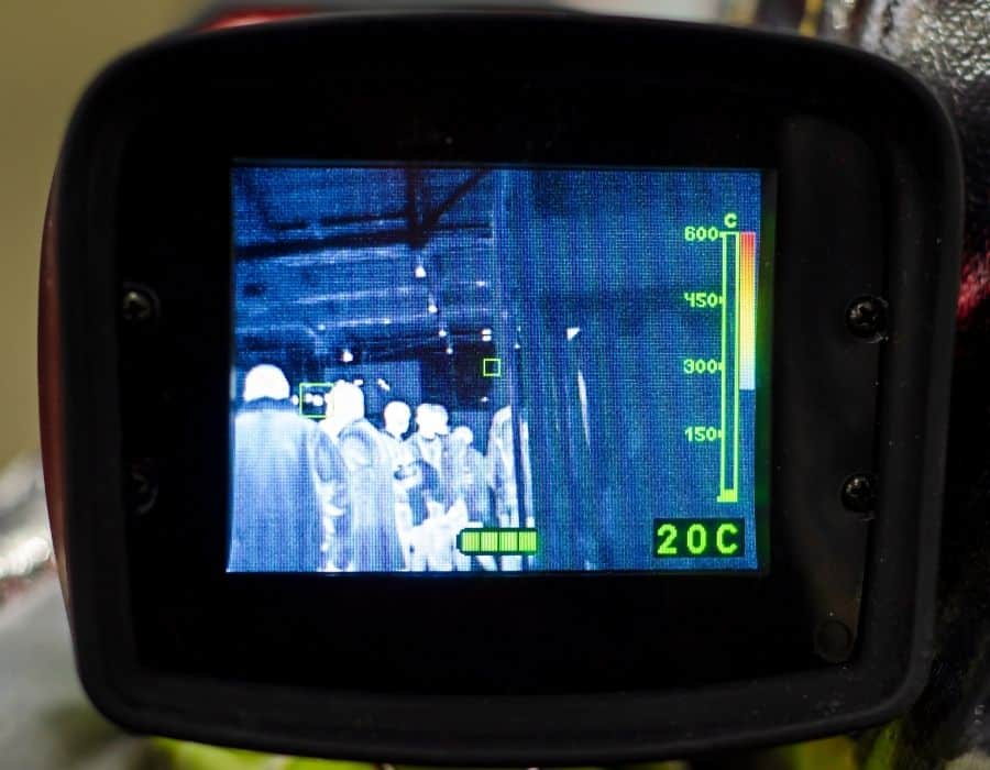 how do thermal cameras work